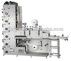 RY-320 Flexographic Printing Machine/4 colors label printing machine/CMYK water based ink and IR Dryer/with Rotary die cutter