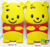 Hot Sale Suitable for Mobile Phone Case Winne the pooh shaped For iphone 4 case, for iphone 4s case