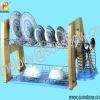 wooden dish drainer