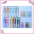 mixed color paper clips