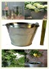 wholesale cheap small Metal bucket With handle