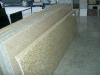 Beige granite veneer countertop