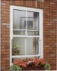 SINGLE HUNG PVC WINDOW