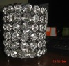 2022-6 crystal glass votive candle holder for home & wedding & party decor