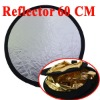60cm Gold Silver Compact Light Reflector Disc Photographic Equipment