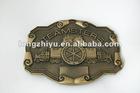 Fashion design metal horse belt buckle