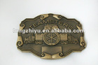 Fashion design metal horse belt buckle