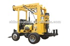 XYX-3 trailer mounted drilling rig 300mm depth