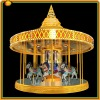 2012 fun summe best seller kiddie ride playground equipment carousel /merry go round