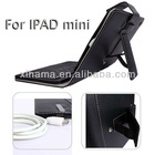 Folding Leather Case for iPad Mini with Removable Wireless Bluetooth Keyboard case