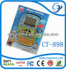 16 bit TFT 2.7 inch screen kids lapto toy, spanish to english cheap educational toys for kids