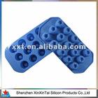 novelty silicone ice cube tray