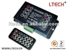 LTECH original LED RGB mini controller 6A/CH*3 with IR remote control LED RGB controller