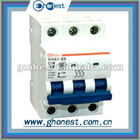 HH61 3P Mini circuit breaker elcb