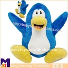 15cm soft plush stuffed blue penguin toy