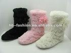 ladies plush boots (ZW1890)