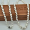pearl farm price AAA necklace pearl, with 925 silver clasp