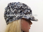fashion girls and ladies cuter handmade knitted winter cap