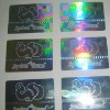 anti-counterfeit hologram sticker and label