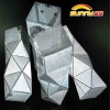 Multi-layer fold package box design templates