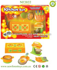 Kid Toys Plastic Kitchen Utensil Stove Toy Set
