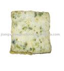 Flat angle tempura (onion ,green laver)