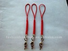 red dacron cellphone keychain strap for accessory