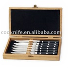 Hot sell 6Pcs Best Design Steak Knife