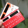 8 digits pocket solar card calculator for promotion gift
