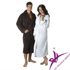 100% cotton hotel bathrobe for 4 and 5 star hotel