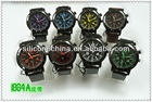 37 new styles fashion silicone watch in 2012 winter