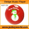 button player Badge Music Player for promotion (NSP-100)