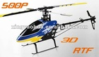 500P 6CH 2.4G 3D Electric rc helicopter Xingyaohua