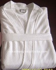 100% cotton hotel unisex bathrobe towel