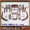 Auto wood trim for TOYOTA COROLLA 08-2010 R