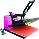 CE approval High pressure heat press machine for logo transfer printing