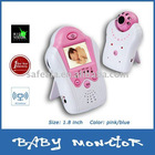 "1.8"" 2.4 GHz Color LCD Wireless Baby Monitor Night Vision Camera"