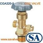carbon dioxide cylinder valve