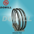diesel engine piston ring for NISSAN PD6
