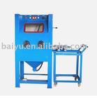 Turnable sandblasting machine