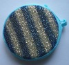 Hot sale round blue cleaning sponges