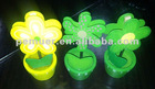 Effective and practical plastic gel air freshener with different colors for nipping name card