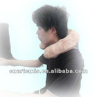 the most popular USB far infrared heated u shape neck pillow