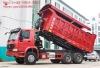 Fully Enclosed Dump Truck Howo 6*4