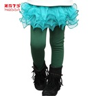 Fashion Design Tight Skirt Legging For Kids Leg Warmer Pants