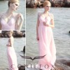 coniefox hotsale newest style fancy pink bridal gown 80619