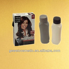 super black hair color cream,factory price,30ml*2