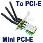 Mini PCI-E to PCI-E adapter