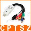 USB Video & Audio Capture Adapter - White