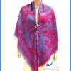 Wholesale Large Square Shawls With Tassels